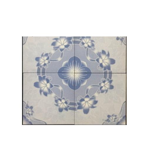 blue ceramic floor tile   MD33