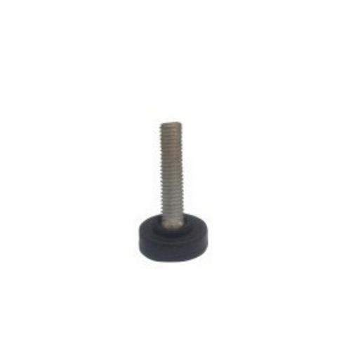 round shape screw type plastic swivel adjust feet    JPL009