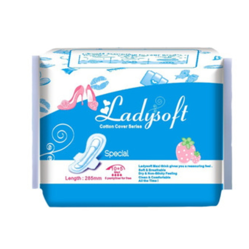 Lady anion sanitary napkin/women sanitary pad manufacturers QD131