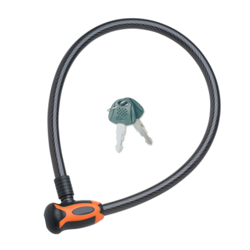 Bicycle Steel Cable Ring Lock with Key 84354