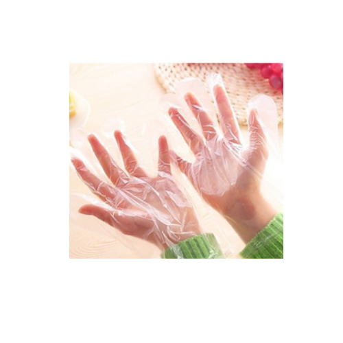 High quality HDPE gloves disposable food glove   HS119