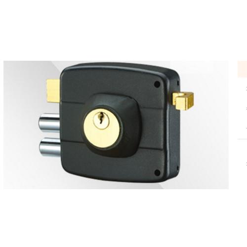 China adjusted door thinkness zinc night latch rim door lock   K-230