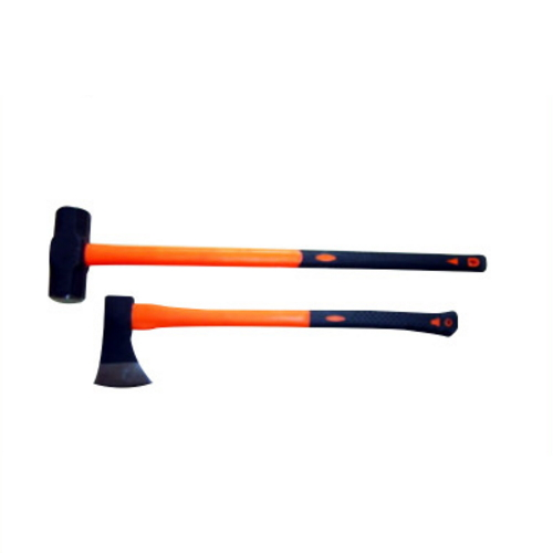 4x4/4wd/offroad 1250G PP coated 65% fiberglass handle axe  JT-S0217-2