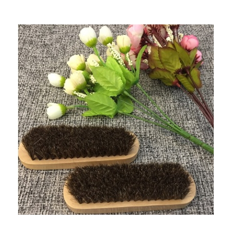 Easy to clean private label horse hair brush   FD01