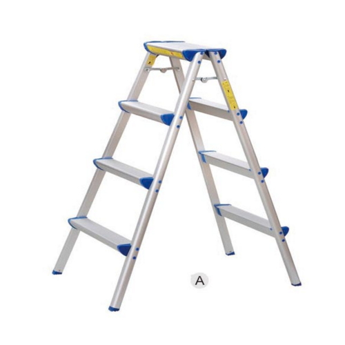 ALUMINUM HOUSEHOLD DOUBLE-SIDED LADDER