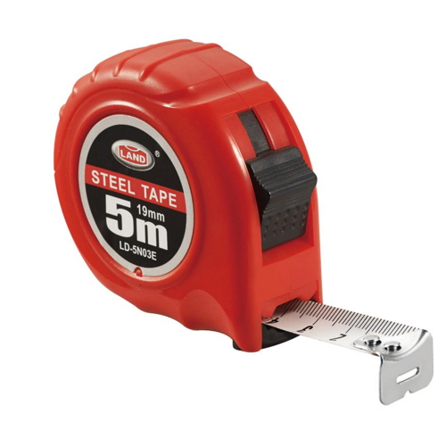 Rubber Case and Two Stops Button KSEIBI Steel Tape Measure    LD-20