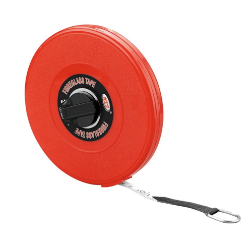 new Red case rolling Salable 50m tape measure holder LD-64