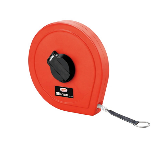 high quality shell ABS plastic advanced glass fiber tape measure   LD-65