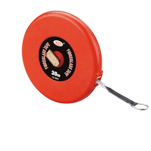 high quality shell ABS plastic 20M 30M 50M advanced glass fiber tape measure LD-66
