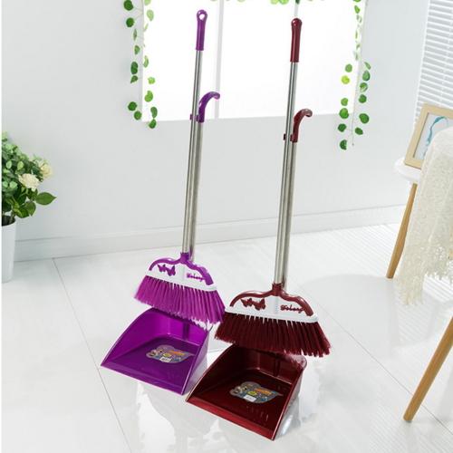 pp plastic colorful push broom  8205