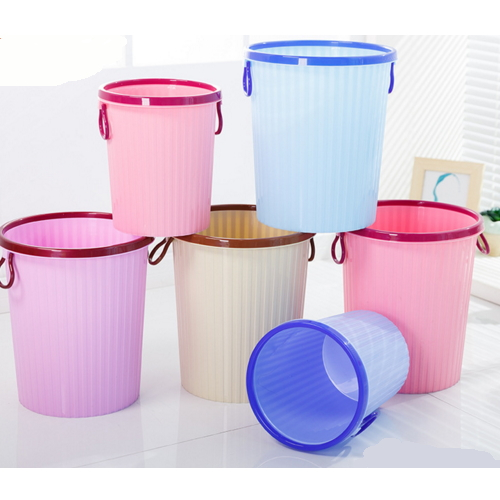 Custom Colors Supplier Of Plastic Dustbin / Trash Can / Ash Can 5611