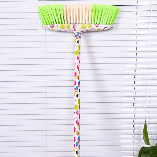 garden broom with long metal stick pole  5005