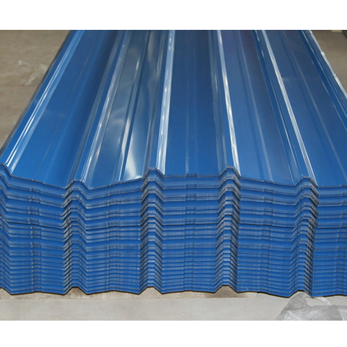 Waterproof Painted Corrugated Steel Roofing Sheets Panel / color roof philippines   SD-50