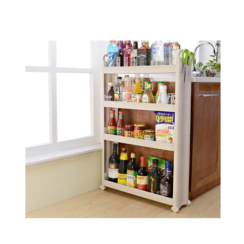 new kitchen plastic storage shelf rack wall sucker  hc--1504
