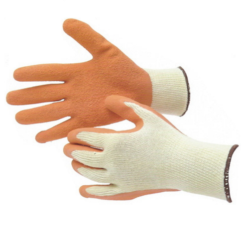 High Quality Pu Coated Rubber Finger Cover Gloves  2001
