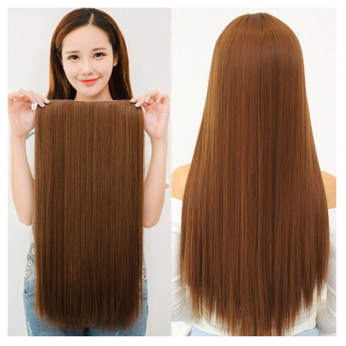 front wig fashion silky straight #4/30 two tone human hair wig    XC-122