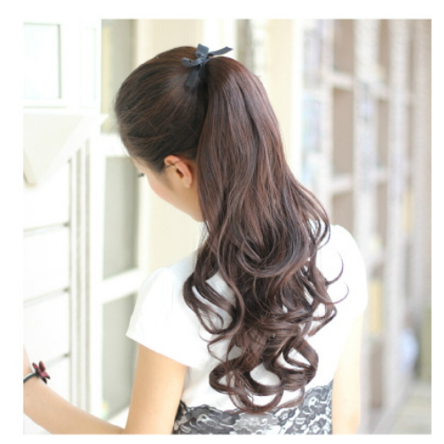 inch mix color fashion curl synthetic lace front wig   XC-128