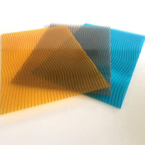 Polycarbonate Hollow S Sheet With Uv Coating For Roof  011