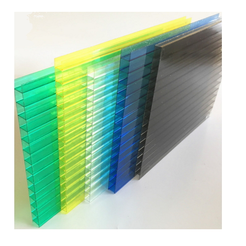 12 mm thickness double wall two layer polycarbonate hollow sheet  017