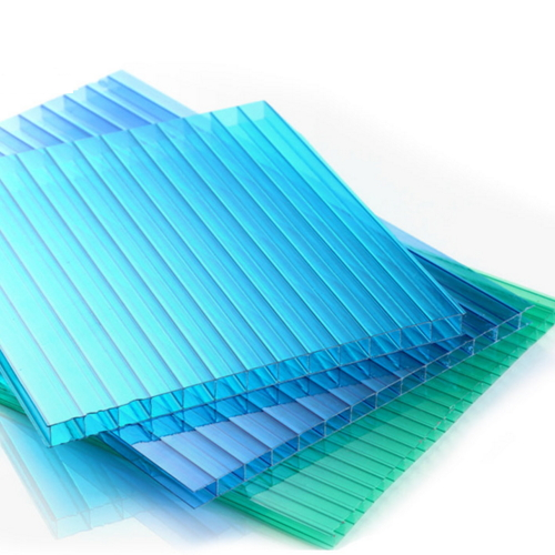 2 Sides Uv Protection 100% Leaking-Proof Polycarbonate Sheet Shed  022
