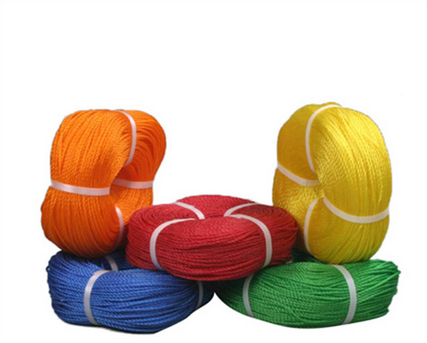 Customizable Braided Cotton Cord Triple-Strand Round Rope RZ-001