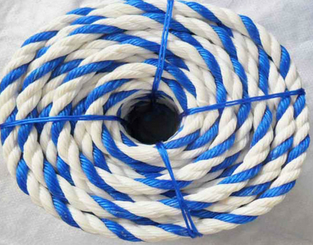 High quality 3 strand twisted nylon rope RZ-005