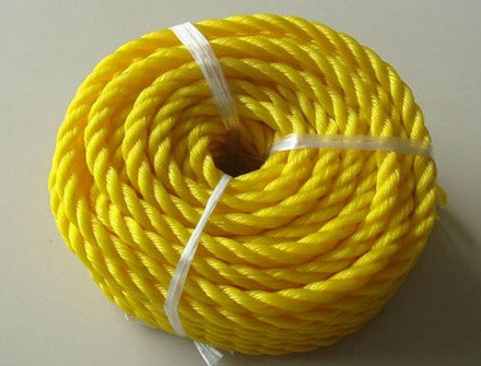 new materials 3 strands PE rope from 3mm to 30mm RZ-006