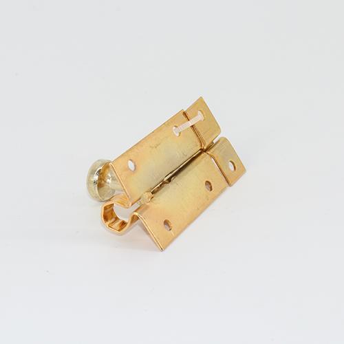 Golden plated  door lock tower bolt pad bolt   HL-027