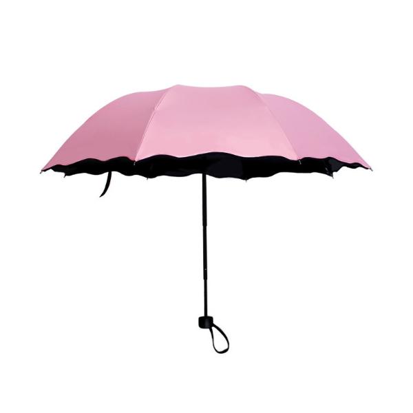 New Fashion Portable Automatic Three-Fold Travel Umbrella HS-004