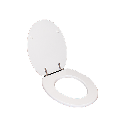 Family bathroom white duroplast toilet seat lid    DW-27
