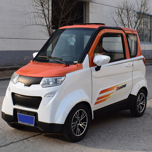 New energy electric car with cheap mini 4 wheels electric car   DUBA C5