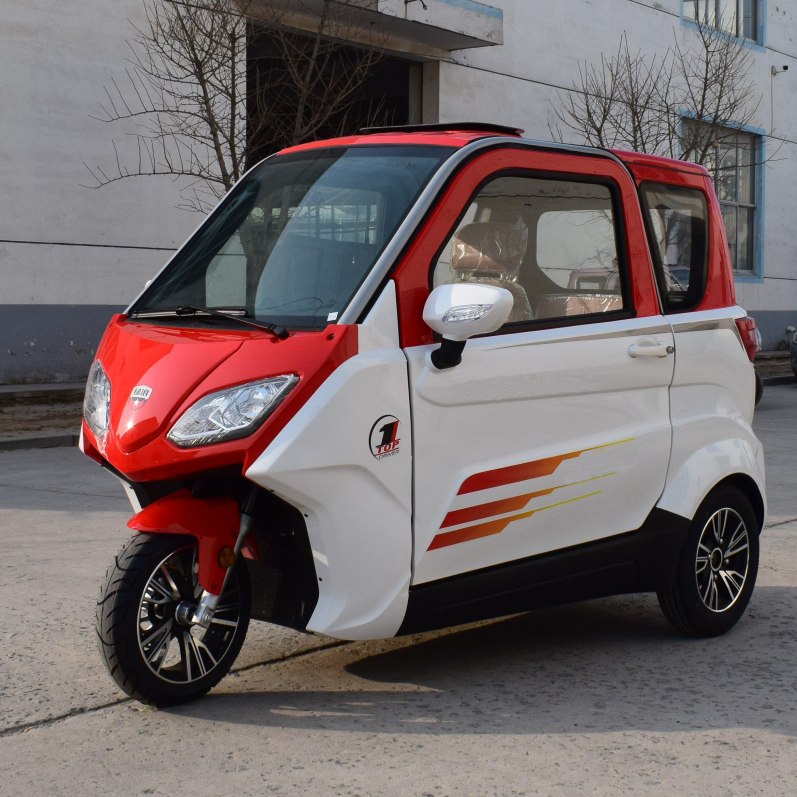 Hot sale open type china 4 wheel electric mini smart car    DUBA C6