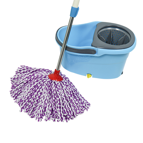 Hot Selling Easy Cleaning 360 Rotating Spin Magic Mop With Bucket   XZTB18-A