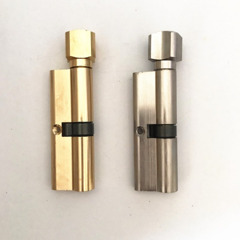 Euro Profile Brass Cylinder Lock with Master Key  GY-01