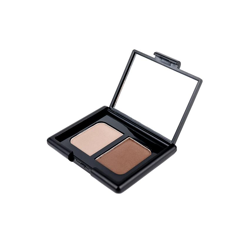 Professional Makeup Brow Custom Logo 2 Color Eyebrow Powder  SYS-003
