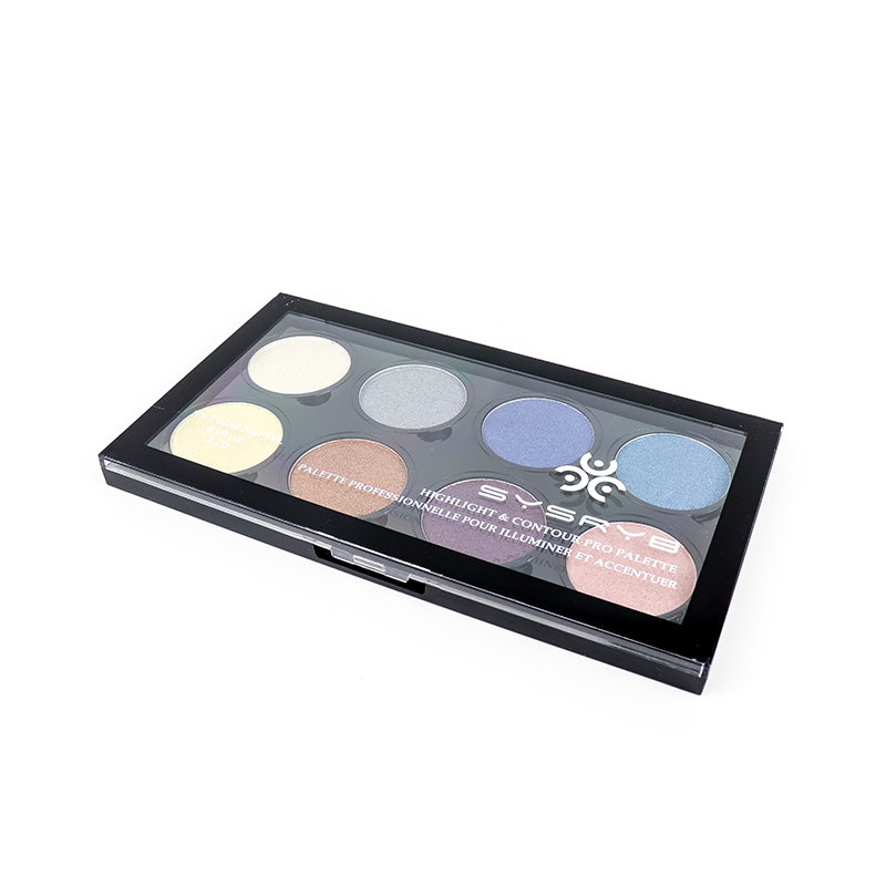 your own brand makeup 10 colors pigment cosmetic eyeshadow  SYS-008