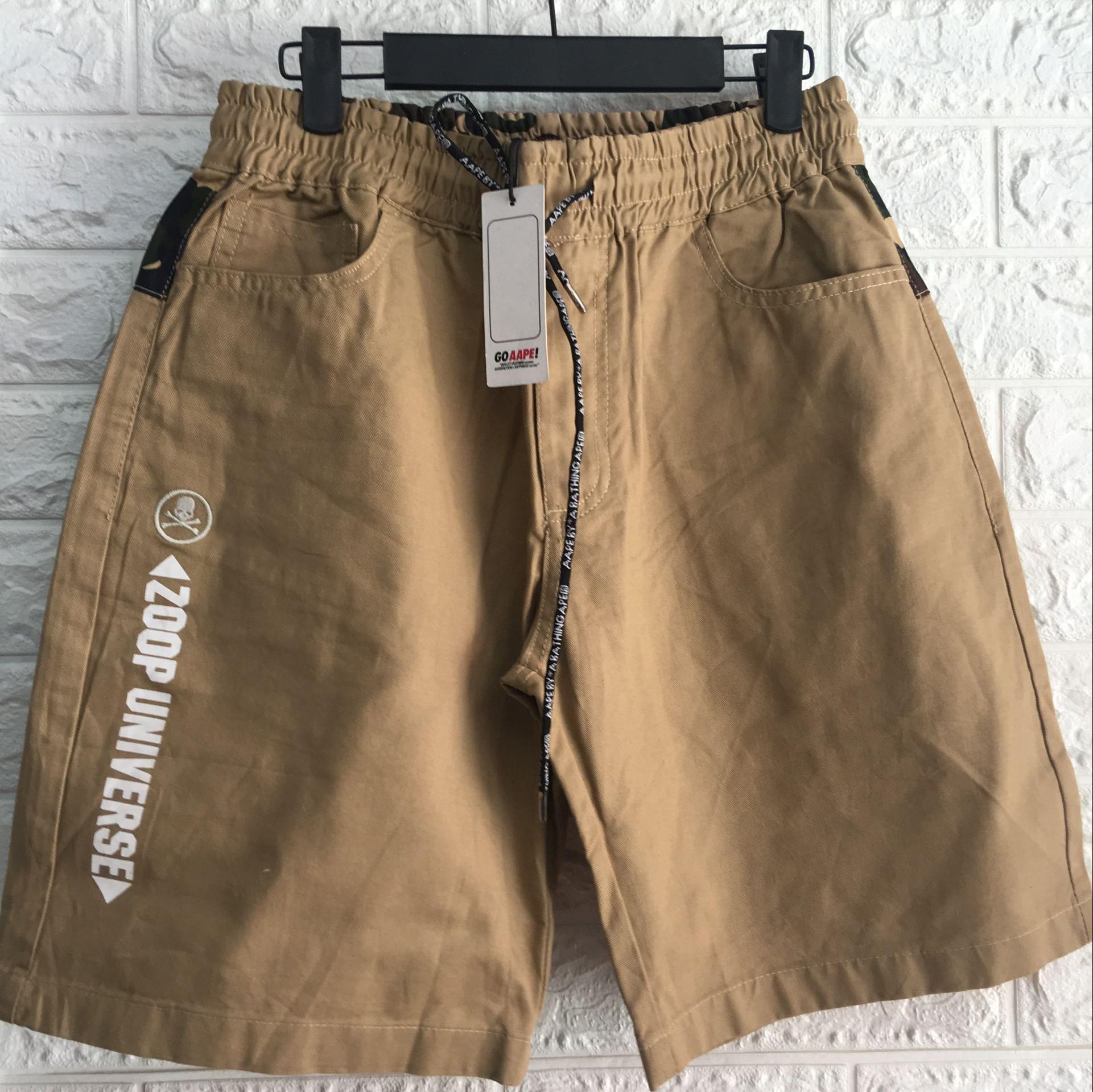 Men's slim fit cargo shorts cargo short pants for men QQ-002