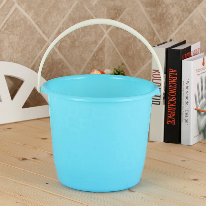 Factory Price Portable Handle Bath Plastic Water Bucket  SC-42