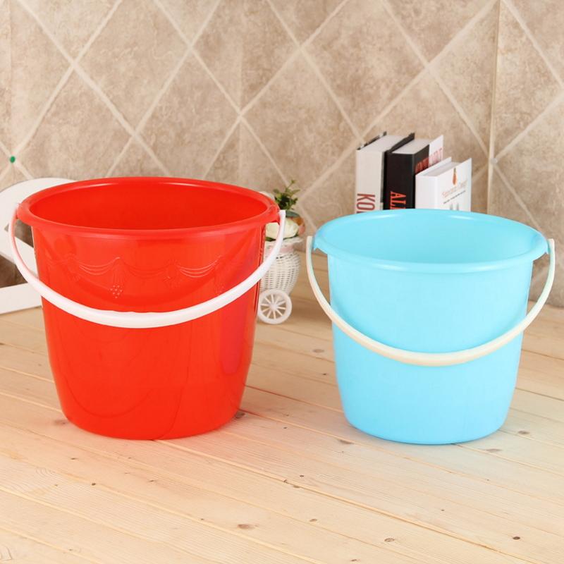 Factory Price Portable Handle Bath Plastic Water Bucket  SC-42