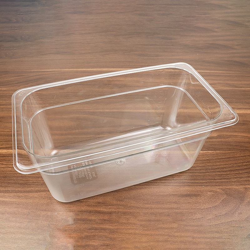 Kitchen Transparent High Quality Buffet Plastic Gastronorm Pan HD-8621