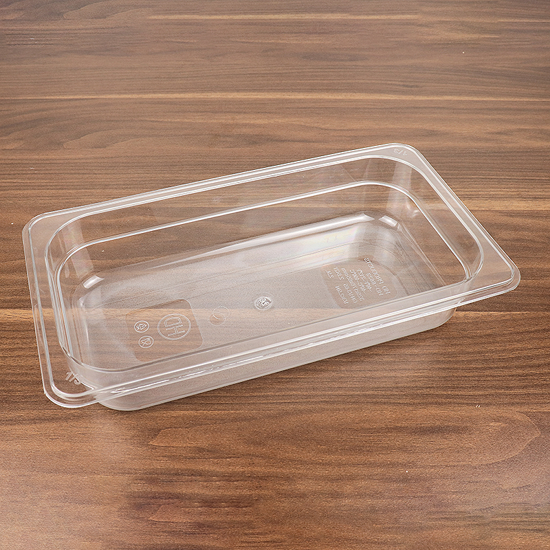 Plastic Acrylic Food Storage Container with Silicon Press Button HD-8623