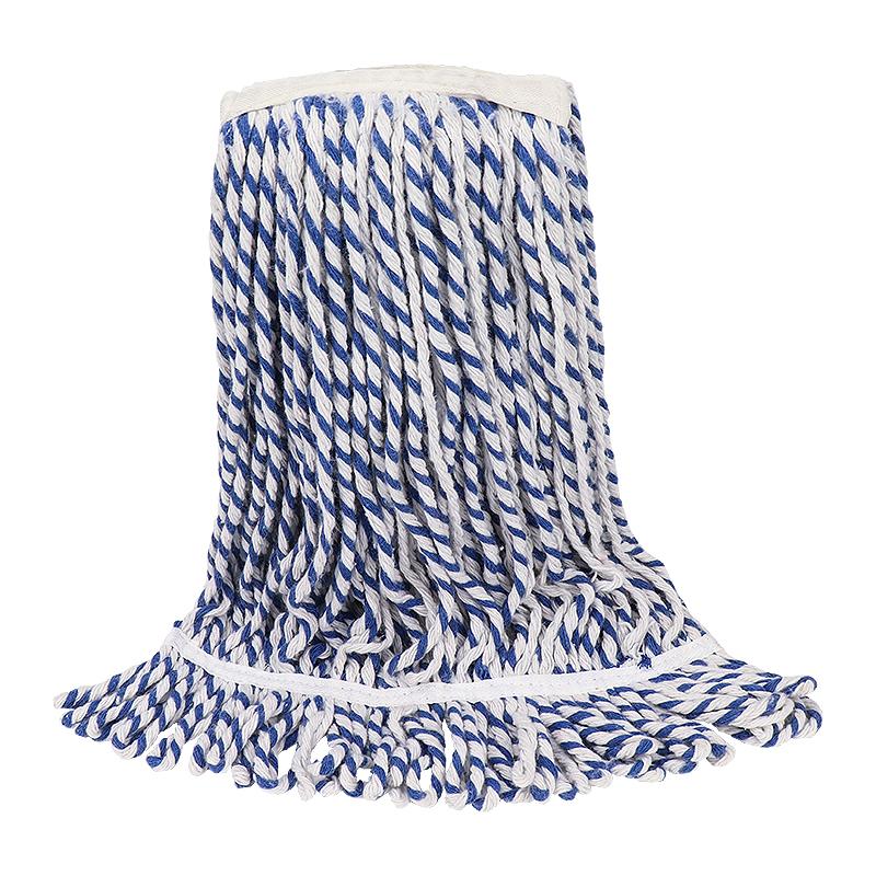 Looped Ends Cotton Wet Mop Head for Floor RJ-065