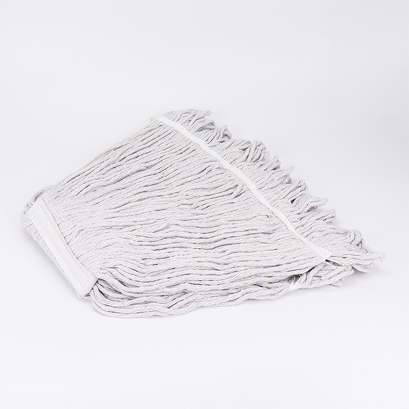 Industrial synthetic blend yarn wet mop replacement head RJ-070