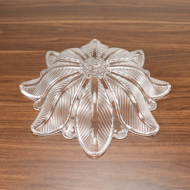 New Design Acrylic Fruit and Vegetables Compote Plate Dish for Home HD-BJ01