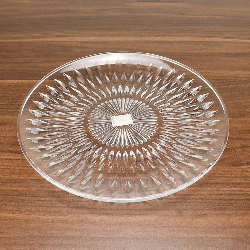 Various kinds of candy dish crystal acrylic fruit bowl plate HD-SJ01