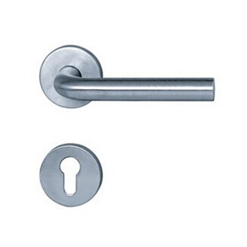 Stainless Steel Brass Core/Steel Core Door Lever Handle  SS4003-19