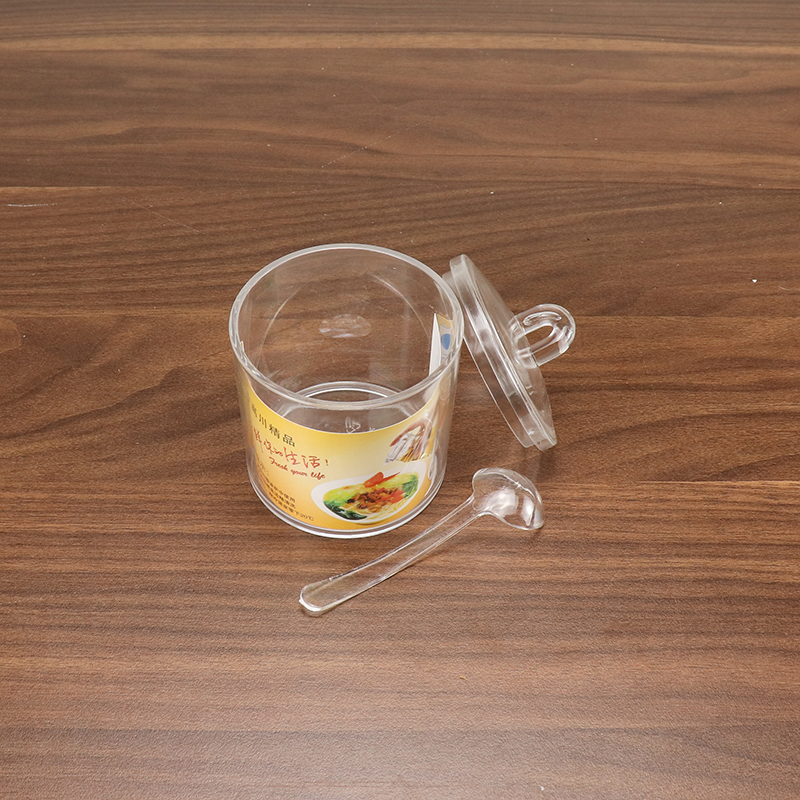 Wholesale Acrylic Tomato Sauce Pot with Spoon HD-8348