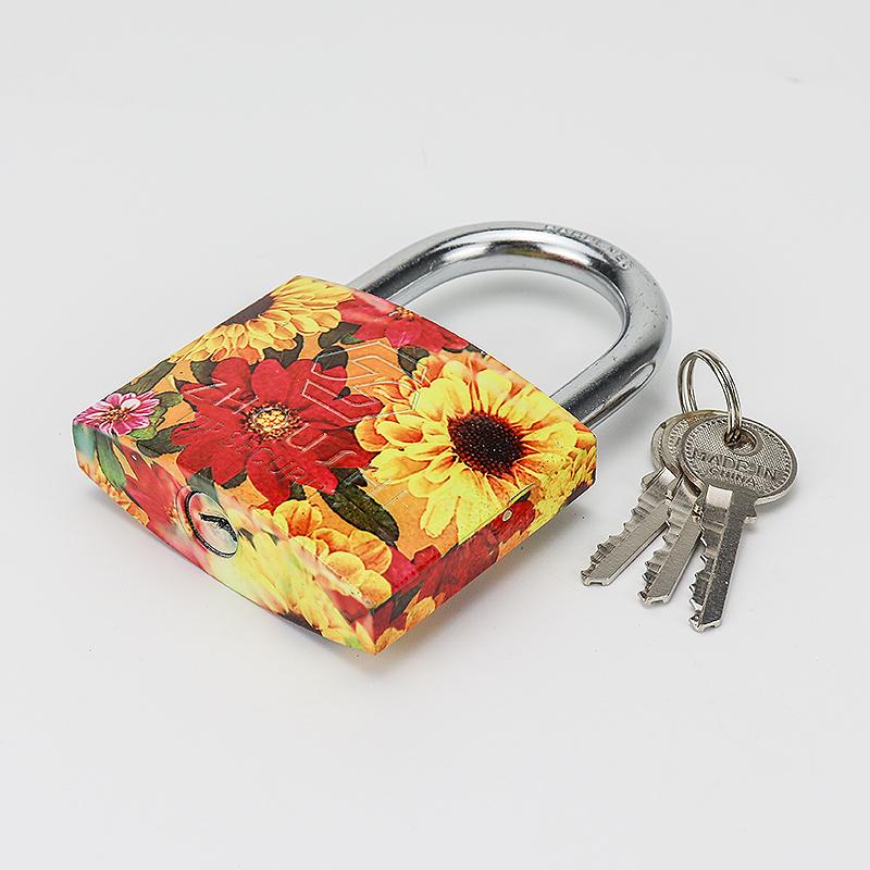 Color Sprayed Lock Padlocks With Master Key ZS-027
