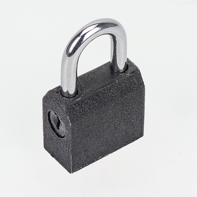 Top Security Black Color Painting Iron Padlock AN-001