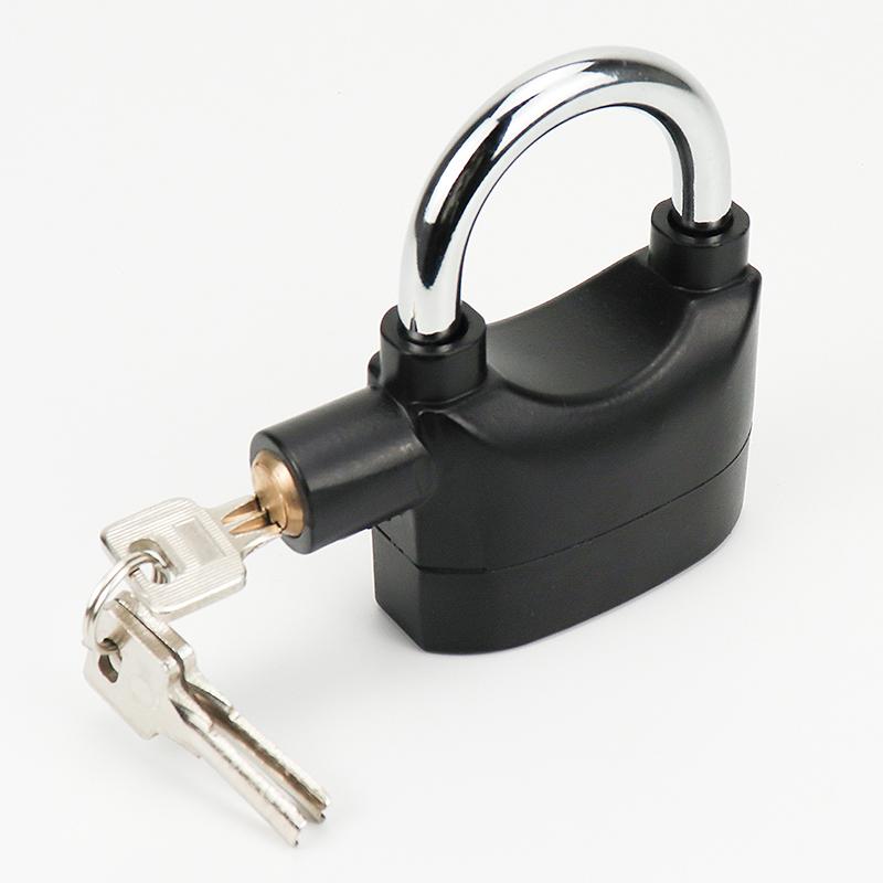 high quality safety lock alarm lock / alarm padlock / alarm gate lock ZY-015